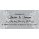 Tableau invocation mariage