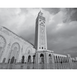 Tableau Islam - Mosquée Hassan II
