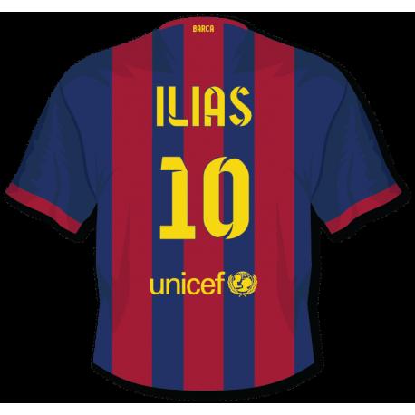 Sticker Maillot FC Barcelone personnalisé
