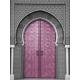 Tableau Oriental - Portes Marocaines Or ou Argent