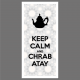 Tableau Oriental - Keep Calm and Chrab Atay