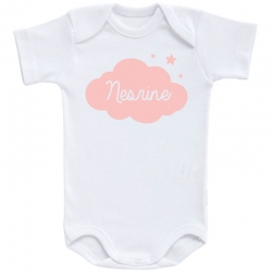 Body Nuage - Personnalisable Fille