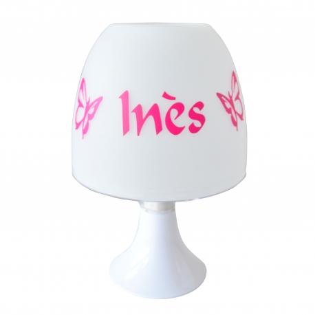 Lampe Personnalisée - Papillons