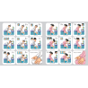 Lot de 2 kits stickers ablutions