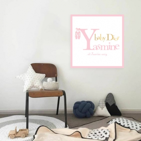 Tableau Enfant - Baby Dior girl