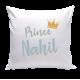 Coussin Personnalisé - Prince