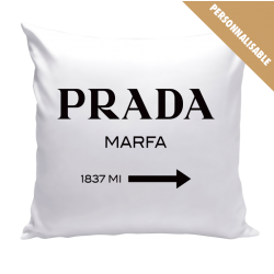 Coussin Prada Marfa - Gossip Girl