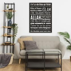 Tableau Islam - Les Règles de la Maison
