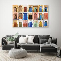 Tableau Oriental - Portes Marocaines Colorées
