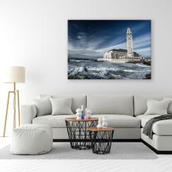 Tableau Islam - Mosquée Hassan II coté Mer