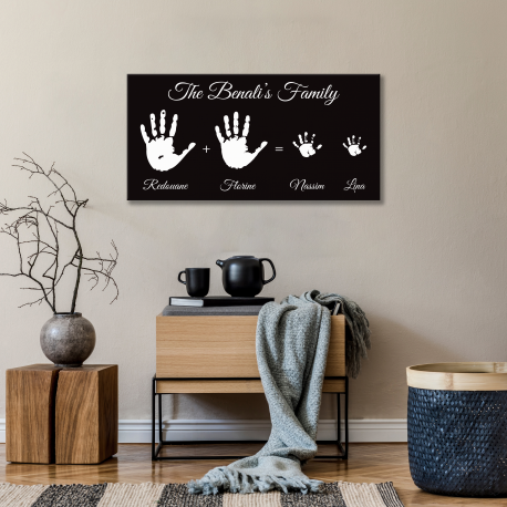 Tableau Moderne - Family