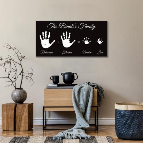 Tableau Moderne - Family