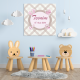 Tableau Personnalisable - Naissance Baby Girl